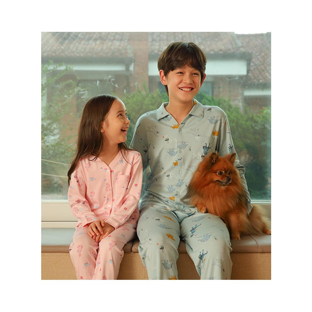 무냐XODG 텐셀모달니트잠옷(여아)